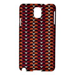 Native American Pattern 19 Samsung Galaxy Note 3 N9005 Hardshell Case by Cveti