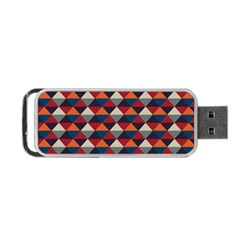 Native American Pattern 21 Portable Usb Flash (two Sides) by Cveti