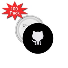 Logo Icon Github 1 75  Buttons (100 Pack)  by Celenk