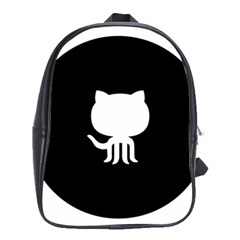 Logo Icon Github School Bag (xl) by Celenk