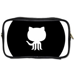 Logo Icon Github Toiletries Bags 2 Side by Celenk