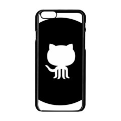 Logo Icon Github Apple Iphone 6/6s Black Enamel Case by Celenk