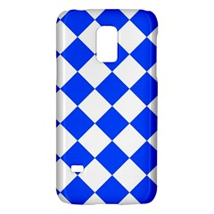 Blue White Diamonds Seamless Galaxy S5 Mini