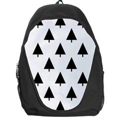 Scrap Background Spruce Christmas Backpack Bag by Celenk