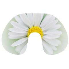 Art Daisy Flower Art Flower Deco Travel Neck Pillows by Celenk