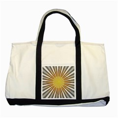 Abstract Art Modern Abstract Two Tone Tote Bag