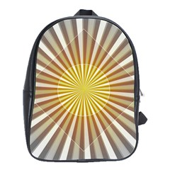 Abstract Art Modern Abstract School Bag (large) by Celenk
