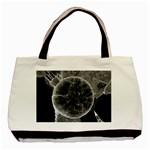 Space Universe Earth Rocket Basic Tote Bag