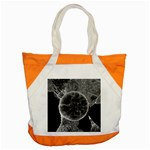 Space Universe Earth Rocket Accent Tote Bag