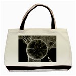 Space Universe Earth Rocket Basic Tote Bag (Two Sides)