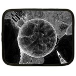 Space Universe Earth Rocket Netbook Case (Large)