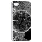 Space Universe Earth Rocket Apple iPhone 4/4s Seamless Case (White)
