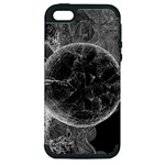 Space Universe Earth Rocket Apple iPhone 5 Hardshell Case (PC+Silicone)