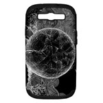 Space Universe Earth Rocket Samsung Galaxy S III Hardshell Case (PC+Silicone)