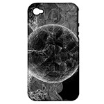 Space Universe Earth Rocket Apple iPhone 4/4S Hardshell Case (PC+Silicone)