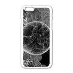 Space Universe Earth Rocket Apple iPhone 6/6S White Enamel Case