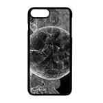 Space Universe Earth Rocket Apple iPhone 8 Plus Seamless Case (Black)