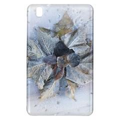 Winter Frost Ice Sheet Leaves Samsung Galaxy Tab Pro 8 4 Hardshell Case