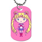 CutiE Moon/Moon Concept Dog Tag (Two-sided)