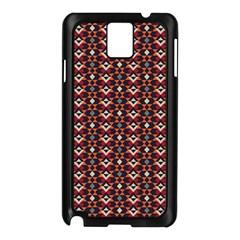 Native American Pattern 22 Samsung Galaxy Note 3 N9005 Case (black) by Cveti