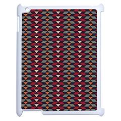 Native American Pattern 23 Apple Ipad 2 Case (white) by Cveti