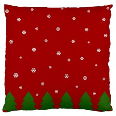 Christmas Pattern Standard Flano Cushion Case (one Side) by Valentinaart