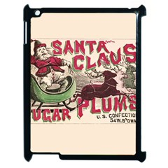 Vintage Santa Claus  Apple Ipad 2 Case (black) by Valentinaart