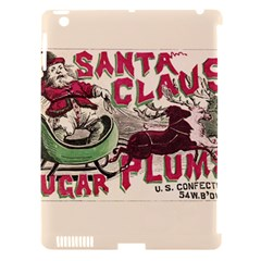 Vintage Santa Claus  Apple Ipad 3/4 Hardshell Case (compatible With Smart Cover) by Valentinaart