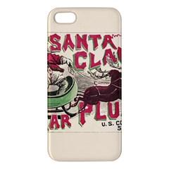 Vintage Santa Claus  Iphone 5s/ Se Premium Hardshell Case by Valentinaart