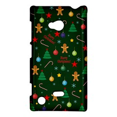 Christmas Pattern Nokia Lumia 720 by Valentinaart