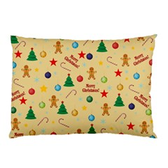 Christmas Pattern Pillow Case by Valentinaart