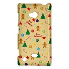 Christmas Pattern Nokia Lumia 720 by Valentinaart
