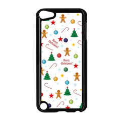 Christmas Pattern Apple Ipod Touch 5 Case (black) by Valentinaart