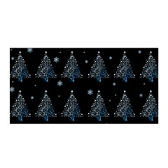 Christmas Tree   Pattern Satin Wrap by Valentinaart