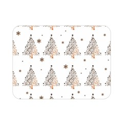 Christmas Tree   Pattern Double Sided Flano Blanket (mini)  by Valentinaart