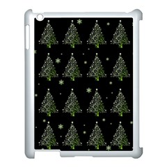 Christmas Tree   Pattern Apple Ipad 3/4 Case (white) by Valentinaart