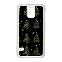 Christmas Tree   Pattern Samsung Galaxy S5 Case (white) by Valentinaart