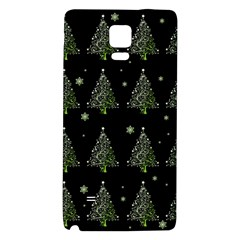 Christmas Tree   Pattern Galaxy Note 4 Back Case by Valentinaart