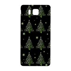 Christmas Tree   Pattern Samsung Galaxy Alpha Hardshell Back Case by Valentinaart
