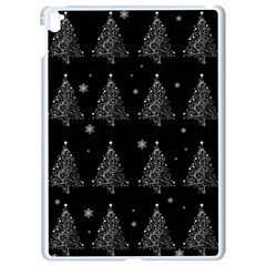 Christmas Tree   Pattern Apple Ipad Pro 9 7   White Seamless Case by Valentinaart
