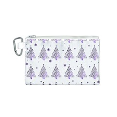 Christmas Tree   Pattern Canvas Cosmetic Bag (s) by Valentinaart