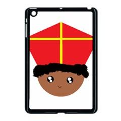 Cutieful Kids Art Funny Zwarte Piet Friend Of St  Nicholas Wearing His Miter Apple Ipad Mini Case (black) by yoursparklingshop