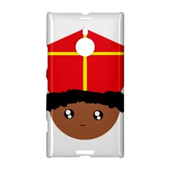 Cutieful Kids Art Funny Zwarte Piet Friend Of St  Nicholas Wearing His Miter Nokia Lumia 1520 by yoursparklingshop