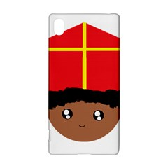 Cutieful Kids Art Funny Zwarte Piet Friend Of St  Nicholas Wearing His Miter Sony Xperia Z3+ by yoursparklingshop