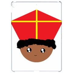 Cutieful Kids Art Funny Zwarte Piet Friend Of St  Nicholas Wearing His Miter Apple Ipad Pro 12 9   Hardshell Case by yoursparklingshop