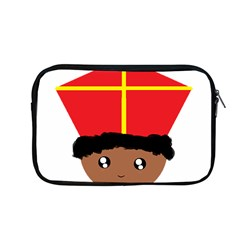 Cutieful Kids Art Funny Zwarte Piet Friend Of St  Nicholas Wearing His Miter Apple Macbook Pro 13  Zipper Case by yoursparklingshop