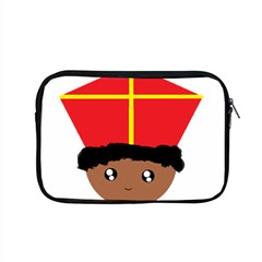 Cutieful Kids Art Funny Zwarte Piet Friend Of St  Nicholas Wearing His Miter Apple Macbook Pro 15  Zipper Case by yoursparklingshop