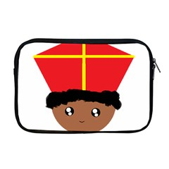 Cutieful Kids Art Funny Zwarte Piet Friend Of St  Nicholas Wearing His Miter Apple Macbook Pro 17  Zipper Case by yoursparklingshop
