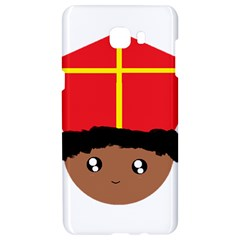 Cutieful Kids Art Funny Zwarte Piet Friend Of St  Nicholas Wearing His Miter Samsung C9 Pro Hardshell Case  by yoursparklingshop