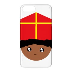 Cutieful Kids Art Funny Zwarte Piet Friend Of St  Nicholas Wearing His Miter Apple Iphone 8 Plus Hardshell Case by yoursparklingshop